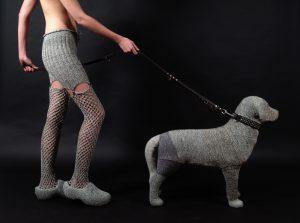 Hendrika with dog